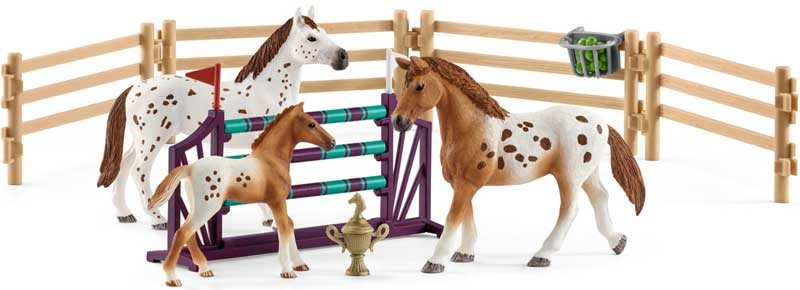 Wholesalers of Schleich Horse Club Lisas Tournament Training toys