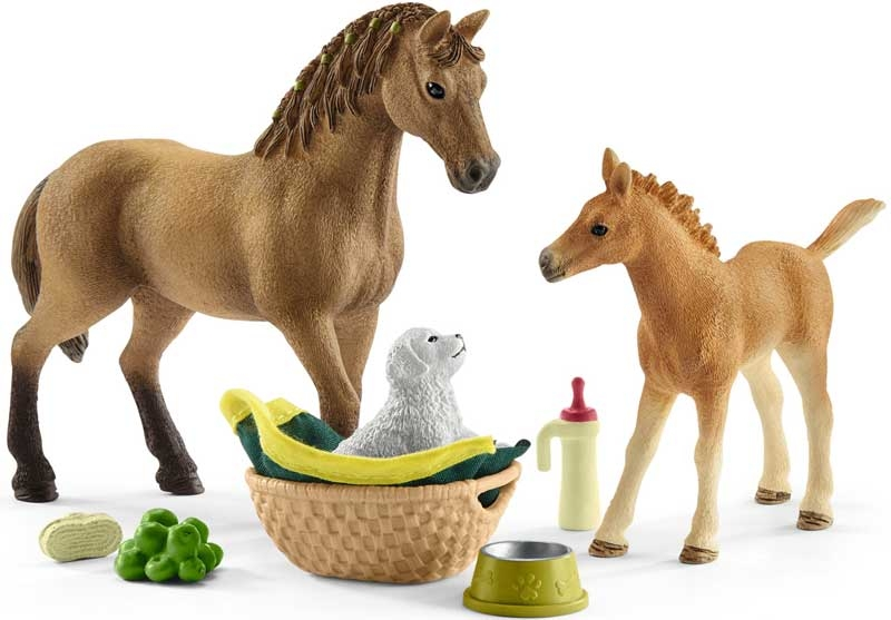 Wholesalers of Schleich Horse Club Sarahs Baby Animal Care toys