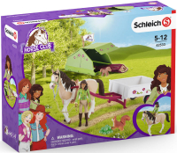 Wholesalers of Schleich Horse Club Sarahs Camping Adventure toys image