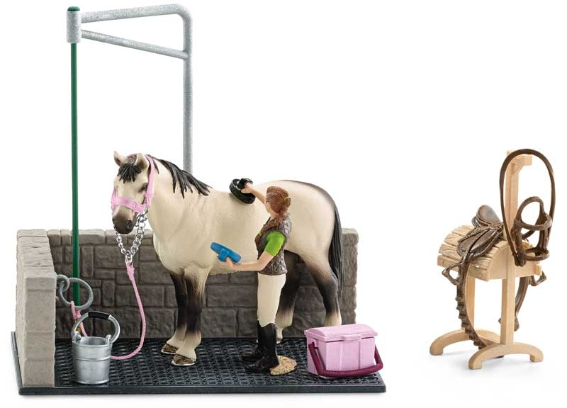 Wholesalers of Schleich Horse Wash Area toys