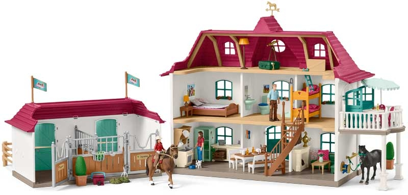 Wholesalers of Schleich Large Horse Stable With House And Stable toys