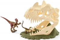 Wholesalers of Schleich Large Skull Trap With Velociraptor toys image