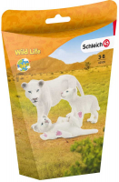 Wholesalers of Schleich Lion Mother With Cubs toys image