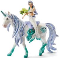 Wholesalers of Schleich Mermaid Riding On Sea Unicorn toys image