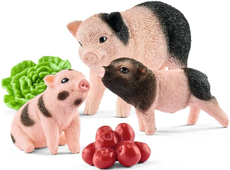 Wholesalers of Schleich Miniature Pig Mother And Piglets toys