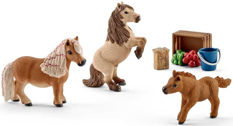 Wholesalers of Schleich Miniature Shetland Pony Family toys