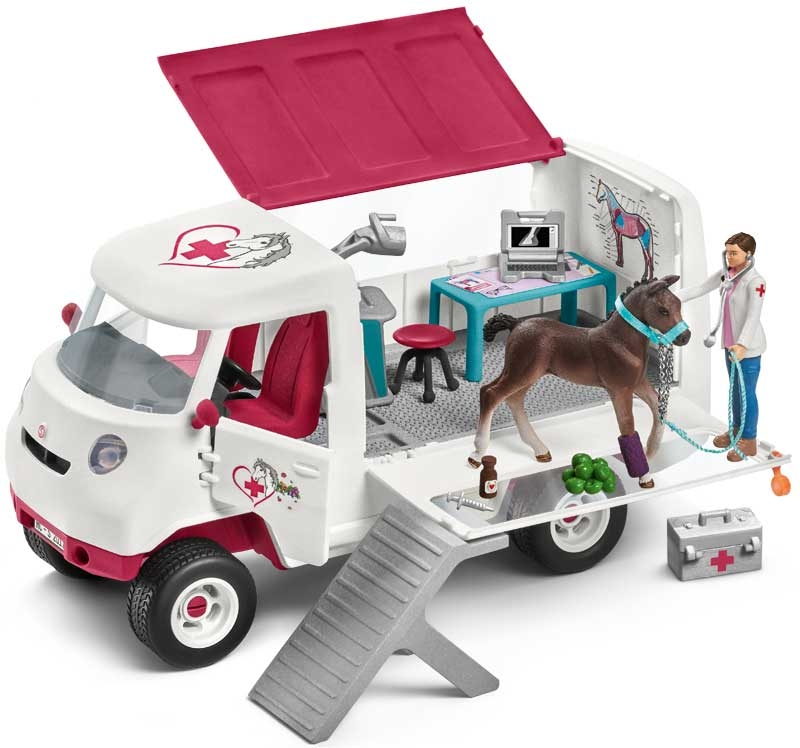 Wholesalers of Schleich Mobile Vet With Hanoverian Foal toys