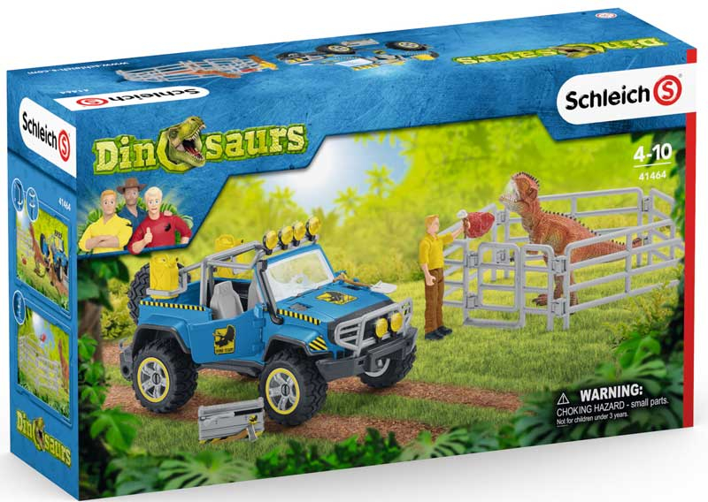 Wholesalers of Schleich Off-road Vehicle With Dino Outpost toys
