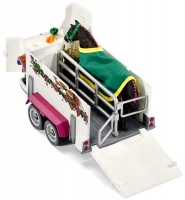 Wholesalers of Schleich Pick Up With Horse Box toys image 2
