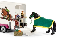 Wholesalers of Schleich Pick Up With Horse Box toys image 4