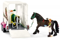 Wholesalers of Schleich Pick Up With Horse Box toys image 5