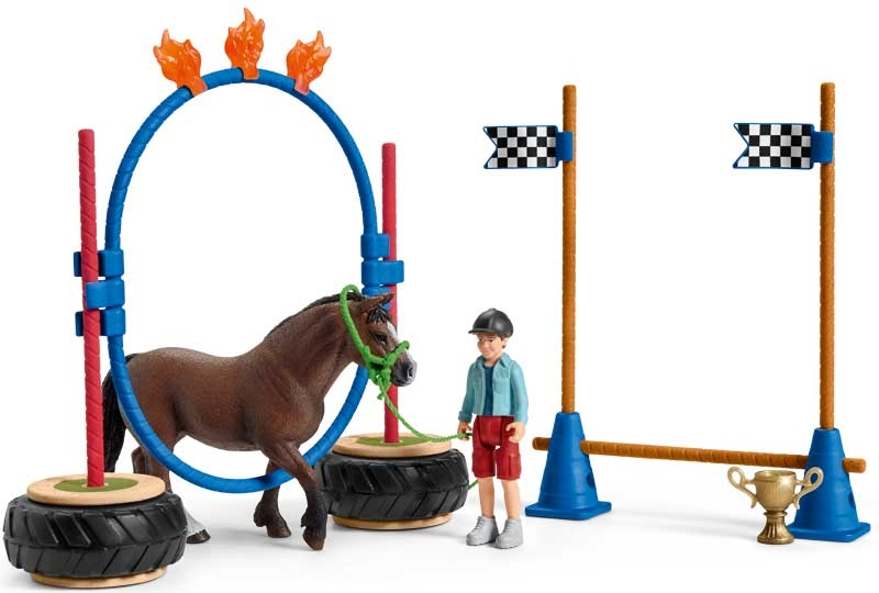 Wholesalers of Schleich Pony Agility Race toys