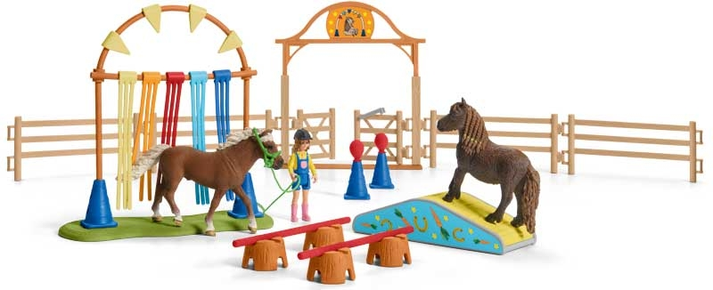 Wholesalers of Schleich Pony Agility Training toys