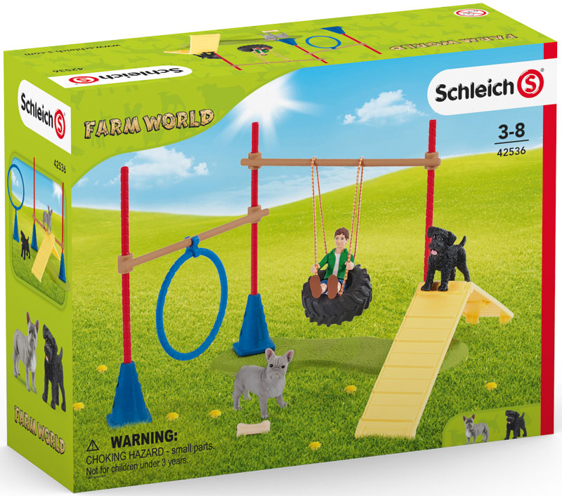 Wholesalers of Schleich Puppy Agility Training toys