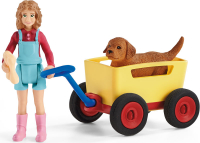 Wholesalers of Schleich Puppy Wagon Ride toys image 2