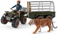 Wholesalers of Schleich Quad Bike With Trailer And Ranger toys image