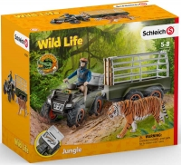 Wholesalers of Schleich Quad Bike With Trailer And Ranger toys image 2