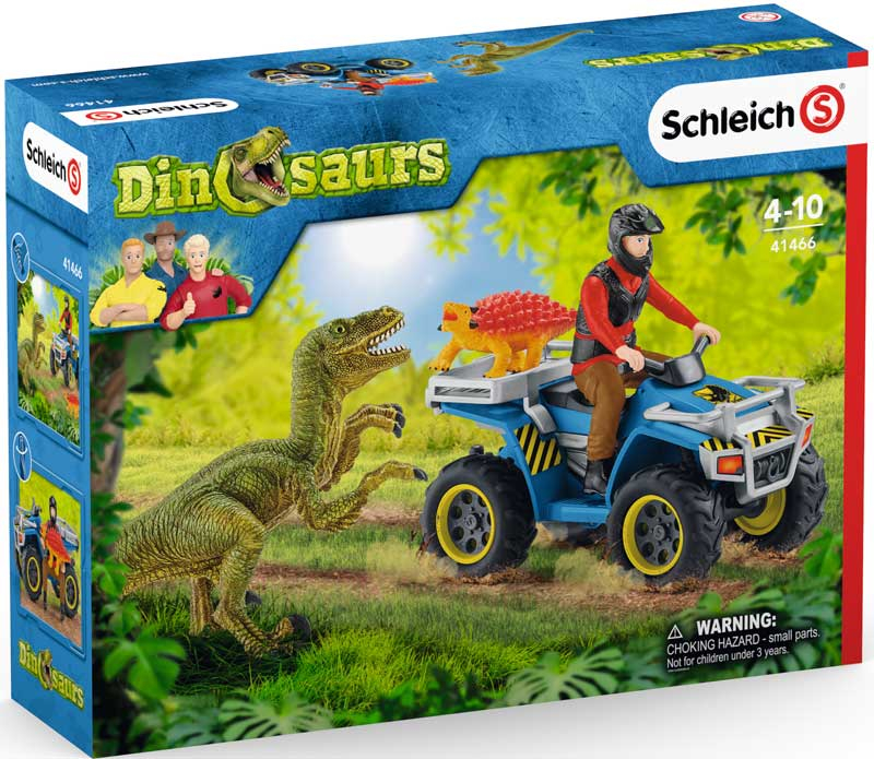Wholesalers of Schleich Quad Escape From Velociraptor toys