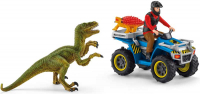 Wholesalers of Schleich Quad Escape From Velociraptor toys image 2