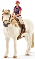 Wholesalers of Schleich Recreational Rider With Horse toys image