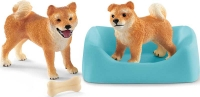 Wholesalers of Schleich Shiba Inu Mother And Puppy toys Tmb