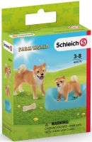 Wholesalers of Schleich Shiba Inu Mother And Puppy toys image 2