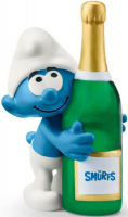 Wholesalers of Schleich Smurf With Bottle toys image