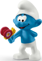 Wholesalers of Schleich Smurf With Butterfly toys image