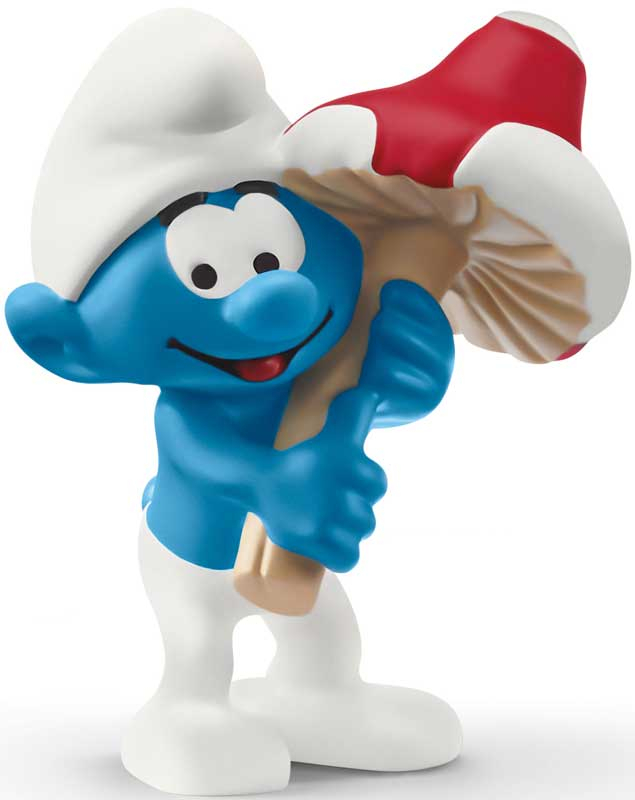 Wholesalers of Schleich Smurf With Good Luck Charm toys