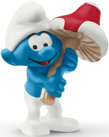 Wholesalers of Schleich Smurf With Good Luck Charm toys image