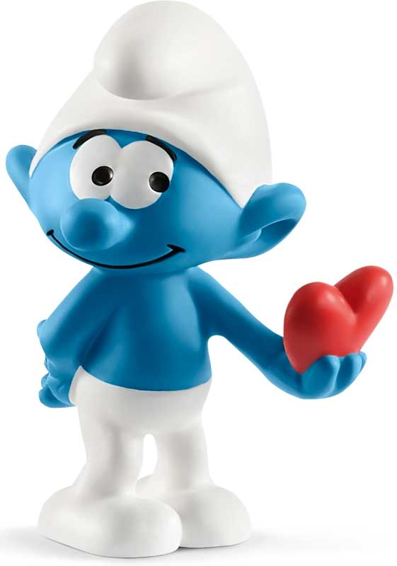 Wholesalers of Schleich Smurf With Heart toys