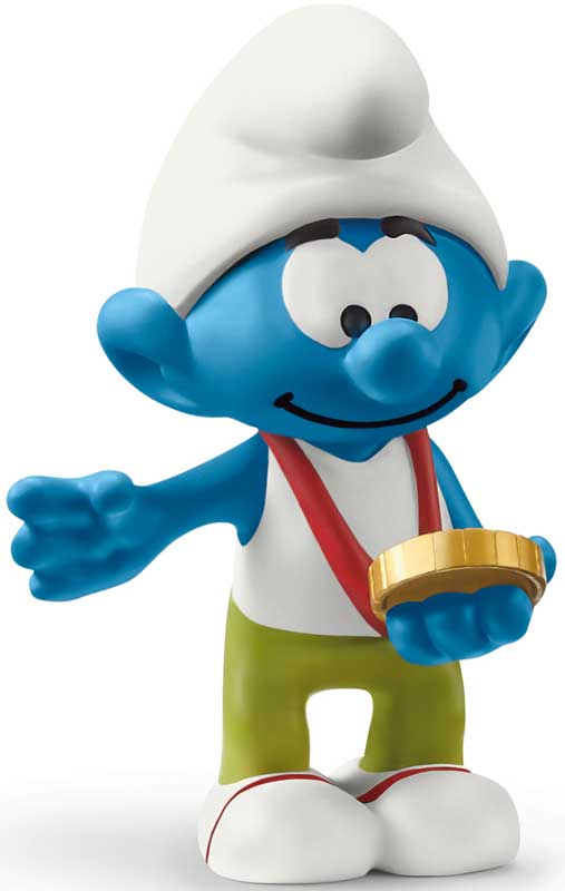 Wholesalers of Schleich Smurf With Medal toys