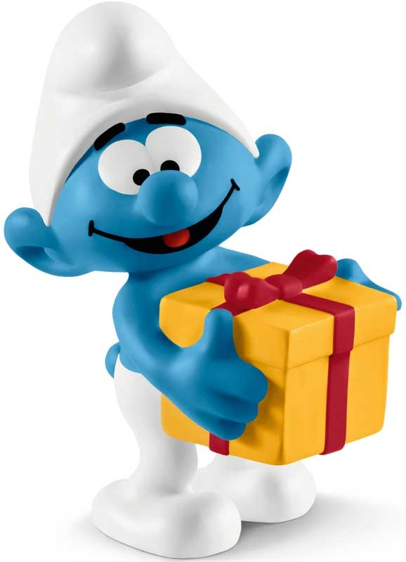 Wholesalers of Schleich Smurf With Present toys
