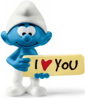 Wholesalers of Schleich Smurf With Sign toys image