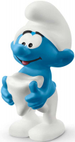 Wholesalers of Schleich Smurf With Tooth toys image