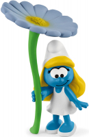 Wholesalers of Schleich Smurfette With Flower toys image