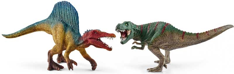 Wholesalers of Schleich Spinosaurus And T-rex - Small toys