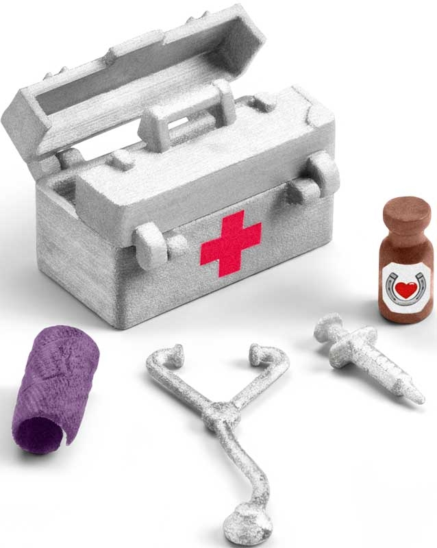 Wholesalers of Schleich Stable Medical Kit toys