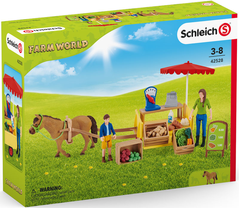 Wholesalers of Schleich Sunny Day Mobile Farm Stand toys