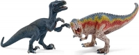 Wholesalers of Schleich T-rex And Velociraptor - Small toys image