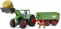 Wholesalers of Schleich Tractor With Trailer toys image