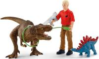 Wholesalers of Schleich Tyrannosaurus Rex Attack toys image 2
