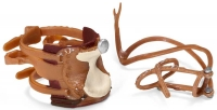 Wholesalers of Schleich Western Saddle And Bridle toys image