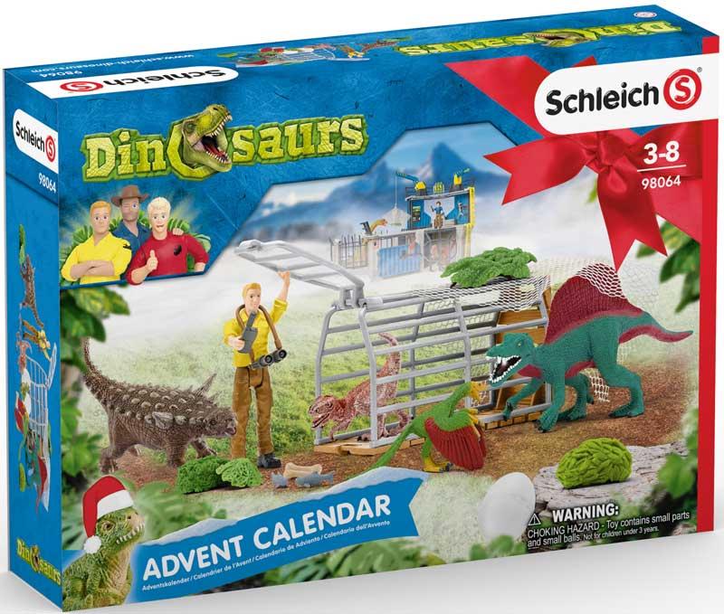Wholesalers of Schliech Dinosaurs Advent Calendar toys