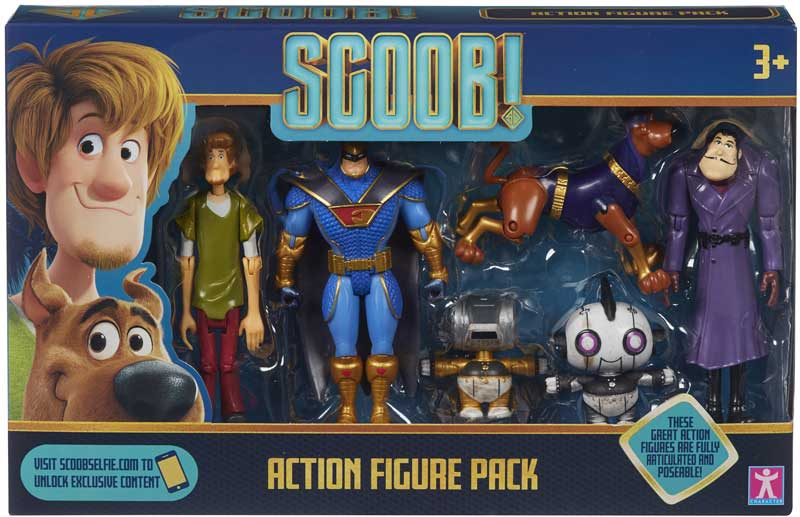 Wholesalers of Scoob Action Figure Multi Pack toys