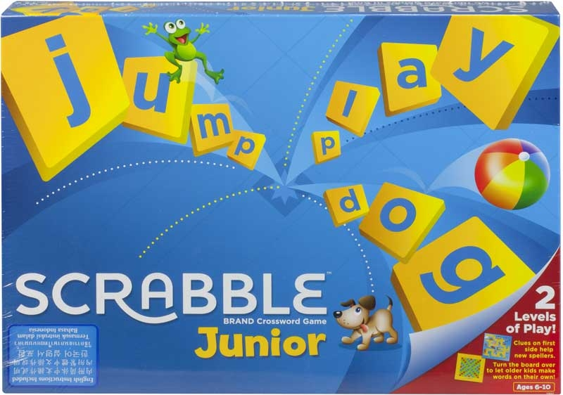 Wholesalers of Scrabble Junior toys