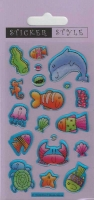 Wholesalers of Sea Creatures - Craft Stickers toys image