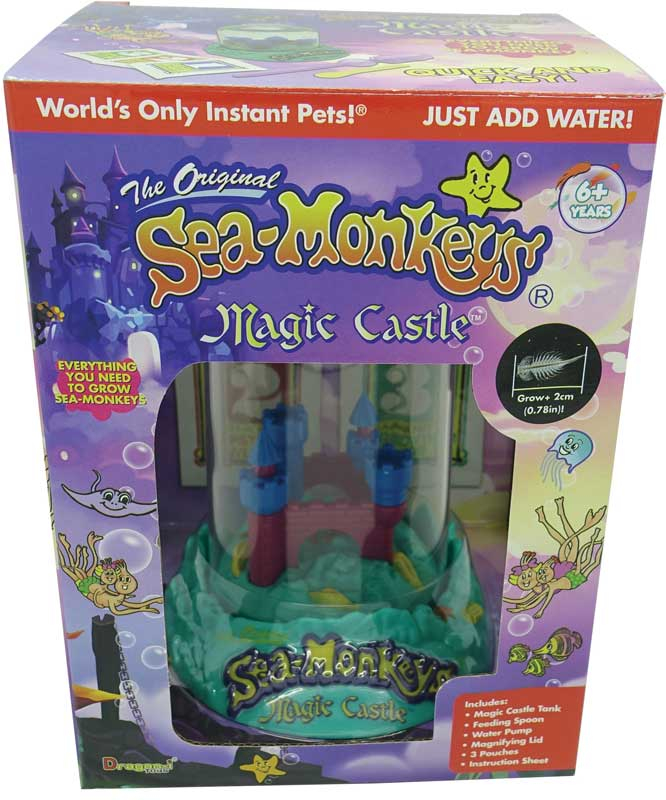 Wholesalers of Sea Monkeys Magic Castle toys
