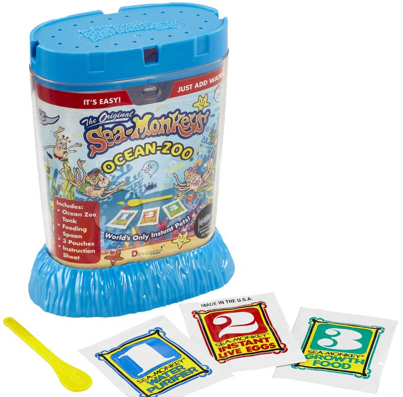 Wholesalers of Sea Monkeys Ocean Zoo toys