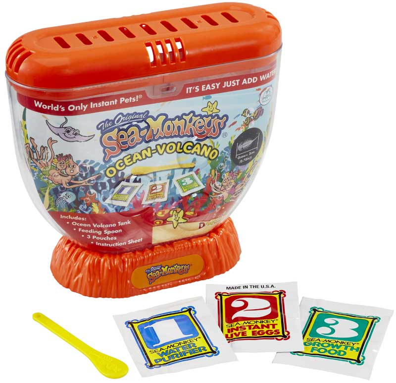 Wholesalers of Sea Monkeys Volcano Zoo toys